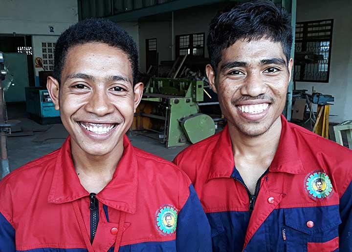 Học hỏi kinh nghiệm cuộc sống Salêdiêng tại nhà tu sinh Don Bosco Centec ở Dili