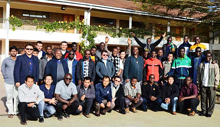 Từ Myanmar đến Nam Sudan truyền giáo
