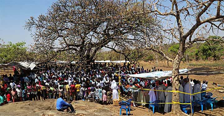 Cộng thể Salêdiêng đầu tiên được thành lập tại khu tị nạn ở Palabek, nước Uganda